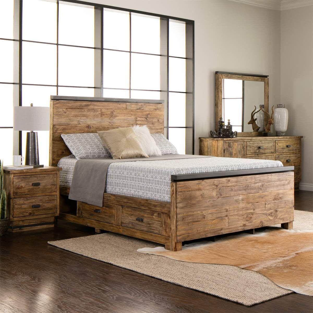 rustic bedroom furniture sets rustic