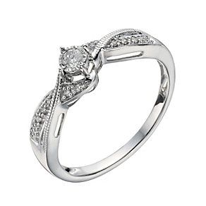 Gifts H Samuel The Jeweller Engagement Rings Sale White Gold Engagement Rings Wedding Anniversary Rings