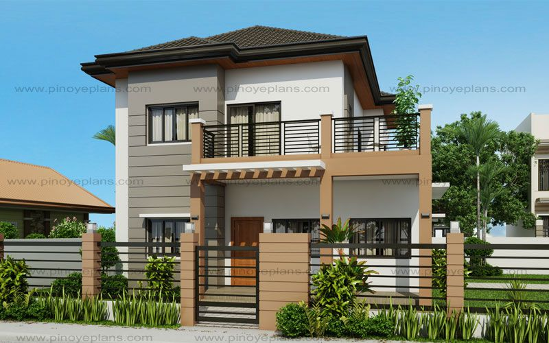 Marcelino model is  four bedroom two storey house that can be built in also min on pinterest rh