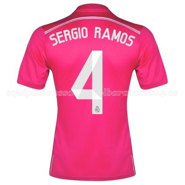 Sergio Ramos de Camiseta Del Real Madrid Segunda Equipacion 2014 2015 e053e4fee0fbe