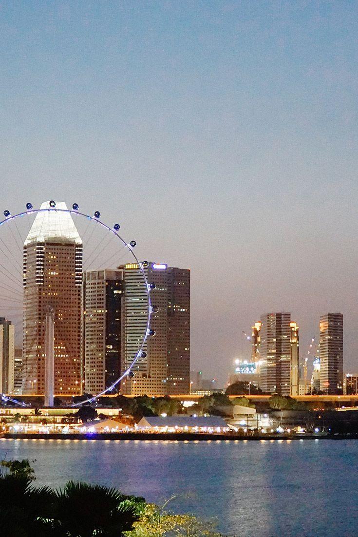 Explore Singapore: Sunset at Marina Barrage | Singapore ...