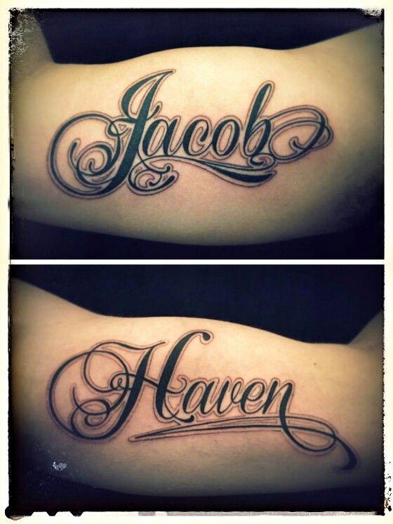 Nombres En Los Brazos Tatuajes
