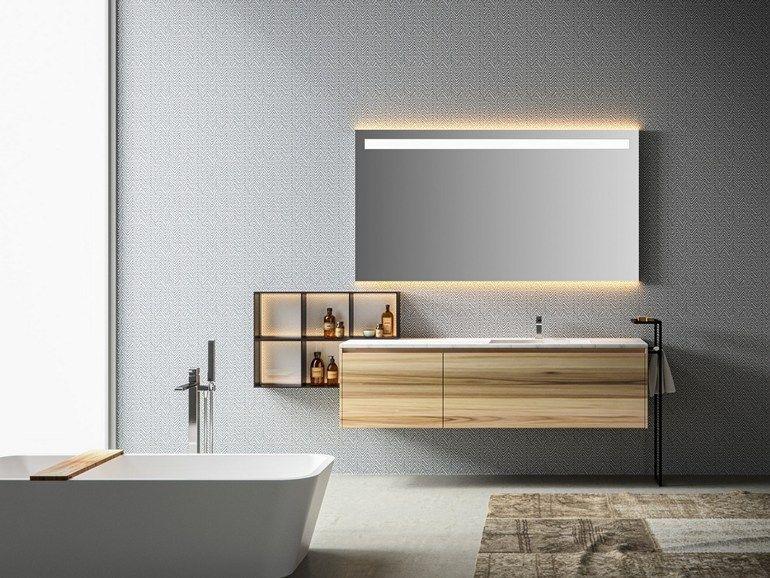 Scarica il catalogo e richiedi prezzi di Eos | mobile lavabo By edoné by agorà group, mobile lavabo singolo sospeso con cassetti, Collezione eos