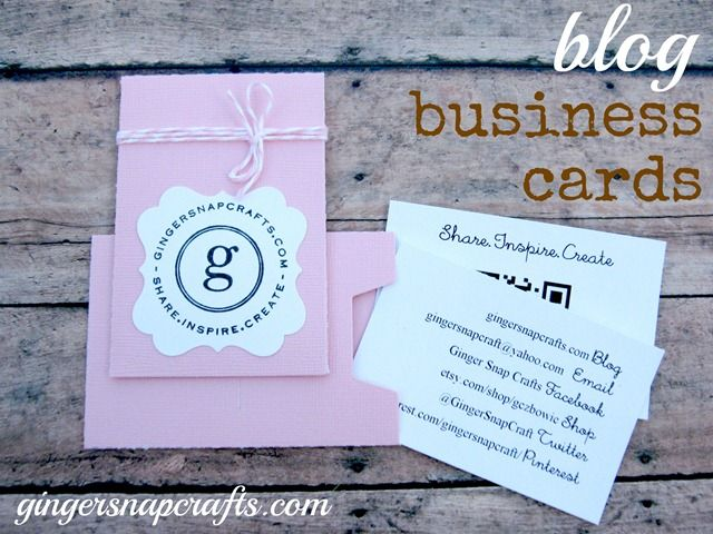 Blog business cards update how to make your blogs qr code blog business cards update how to make your blogs qr code reheart Gallery