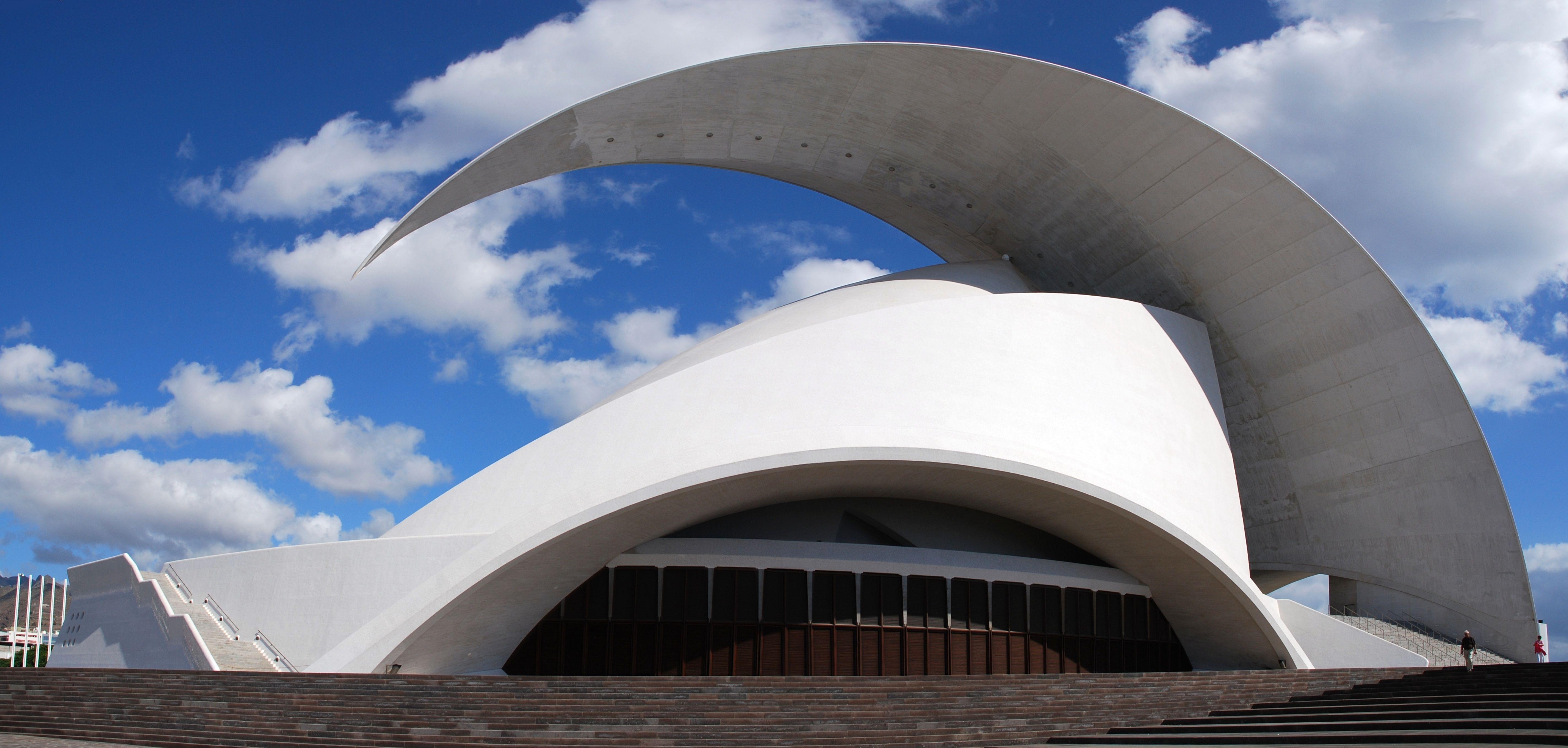santiago calatrava el auditorio de tenerife adn martn