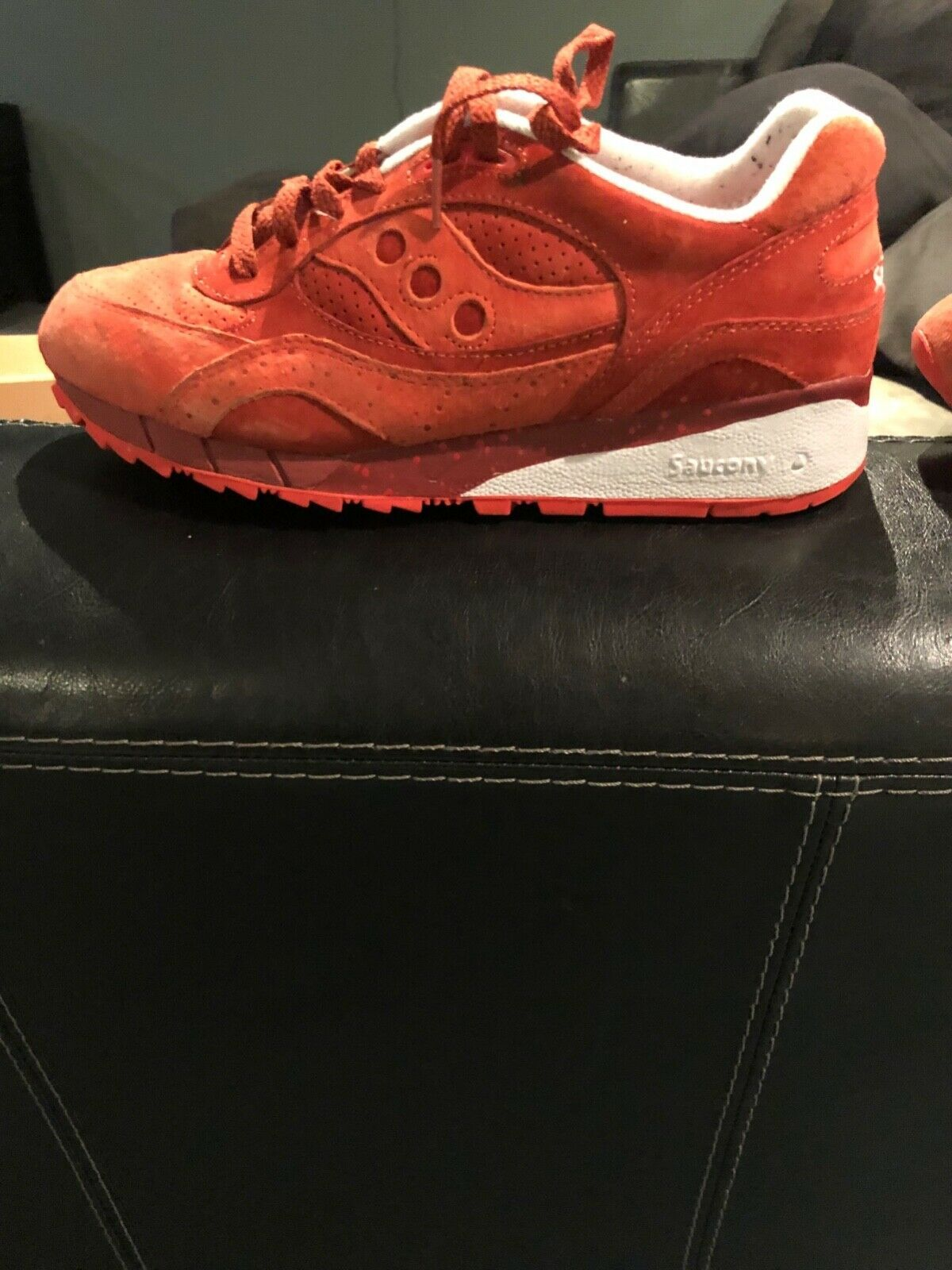 b0762714f1c5 men s saucony shadow 6000 red life on mars size 9.5