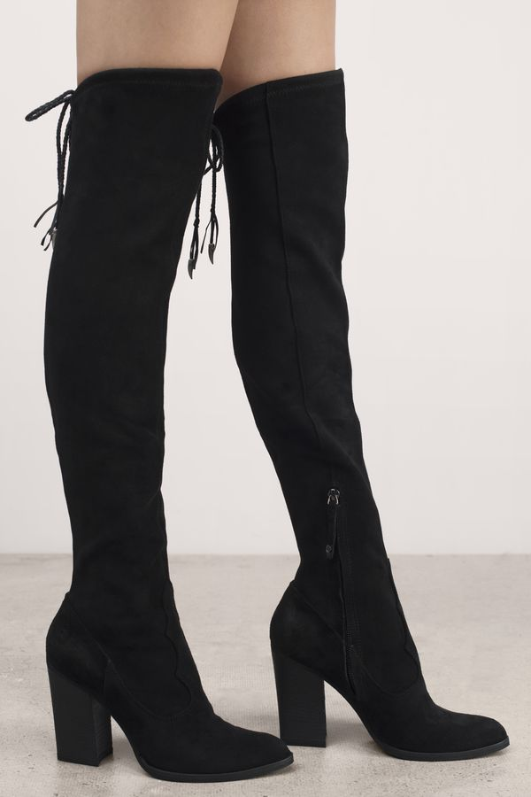 Dolce Vita Women's 'Chance' Over The Knee Stretch Boot J0sBD