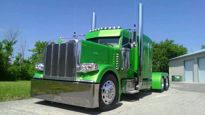 Peterbilt Truck Drivers And Trucks On Pinterest: Project Limelight... Peterbilt 389