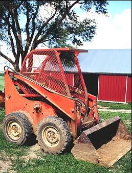 Niosh Face Program Iowa Case Report 01ia004 Cdc Niosh Skid Steer Loader Heavy Equipment Monster Trucks