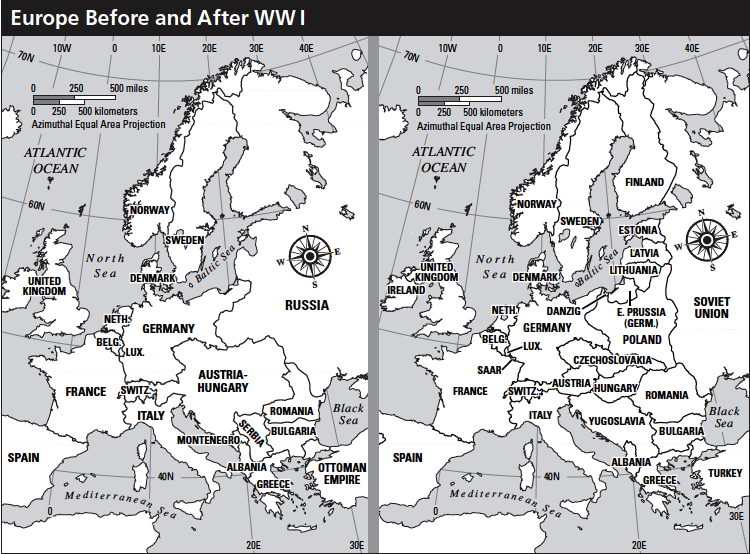 Europe before/after WWI | Teaching  Effects of WWI | Pinterest | Wwi
