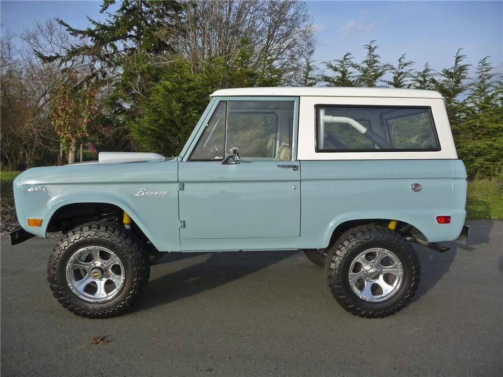1968 FORD BRONCO CUSTOM 4X4 Ford bronco, Classic chevy