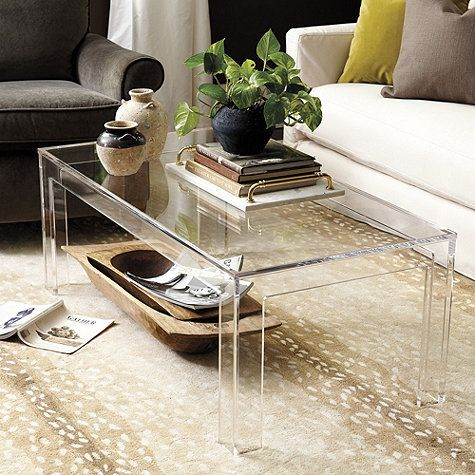 Delightful Acrylic Table, Acrylic Coffee Tables, Home Furniture, Lucite Furniture,  Acrylic Furniture,