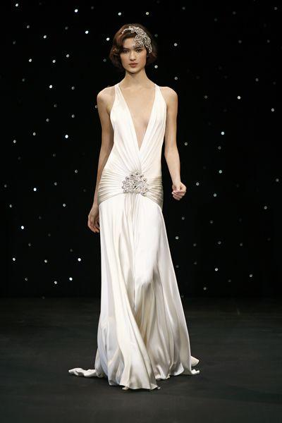 1930s Vintage Deco Wedding Gown  b5bcb750aba