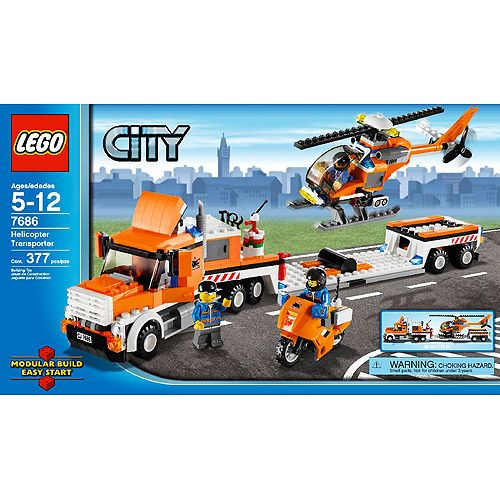LEGO City Helicopter Transporter | Ethan's Birthday wish list ...