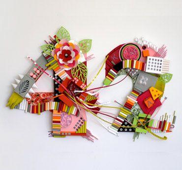 Showcase of beautiful papergraphic designs by yulia brodskaya