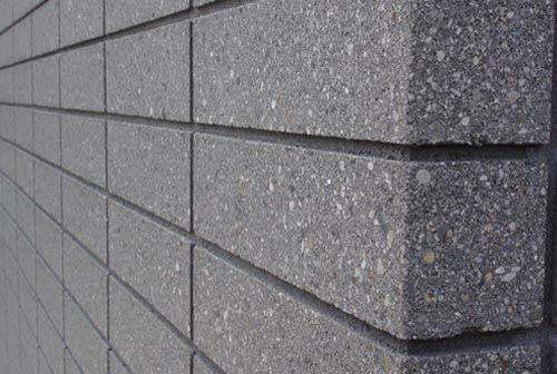 Abc34ecb028e531915e7eccd2635bf06 Jpg 500 336 Concrete Block Walls House Cladding Wall Exterior