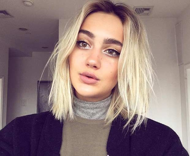 51 Gorgeous Long Bob Hairstyles Stayglam Short Wavy Hair Hair Styles Short Hair Styles