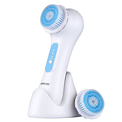 Kingdomcares Valentines Day Gifts Facial Cleansing Brush Sonic System Electrical Rechargeable Waterproof Facial Cleansing Brush Facial Cleanser Skincare Brush