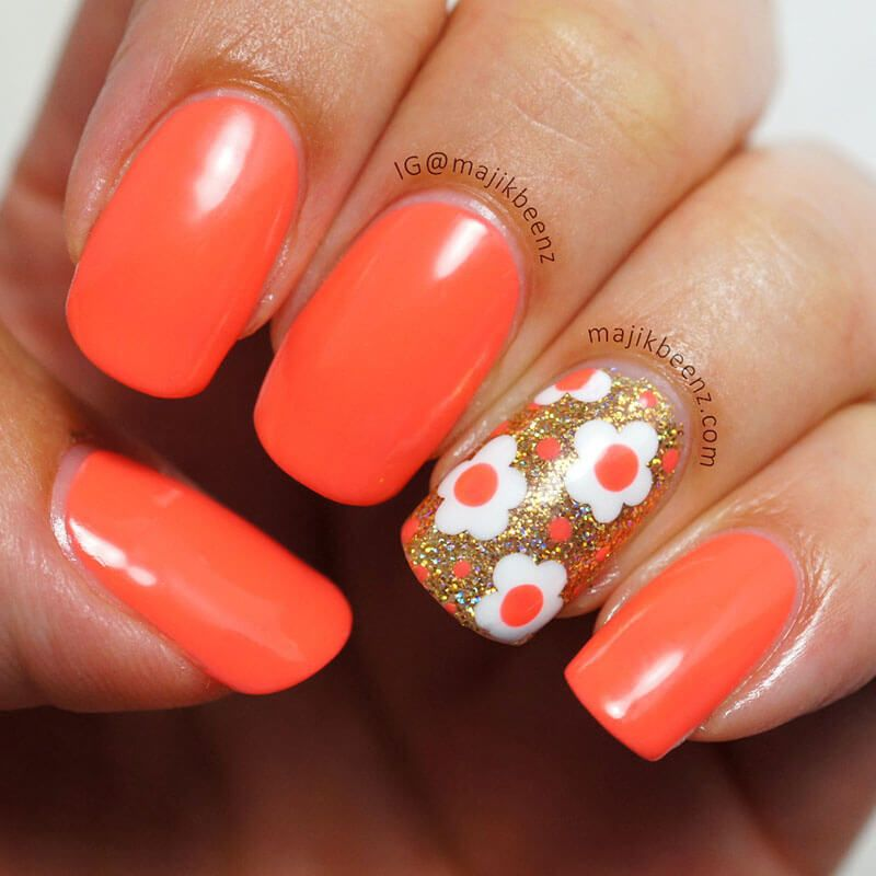 +70 Fotos de uñas decoradas para el verano – Summer Nail Art | Decoración de Uñas - Manicura y Nail Art - Part 5