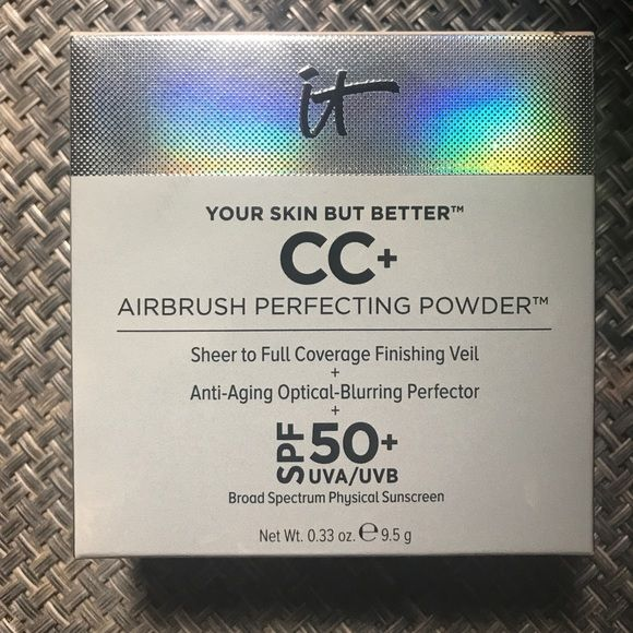 Itcosmetics cc Perfecting airbrush powder fair new New never used - make a receipt free