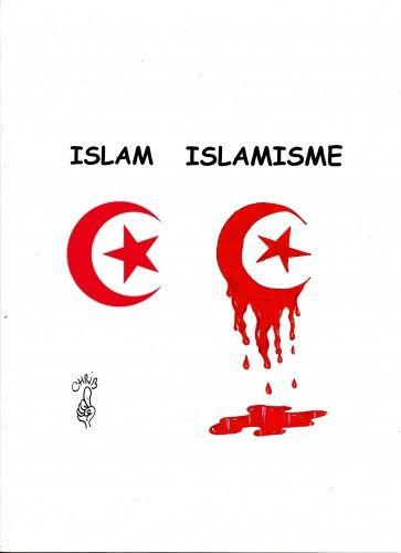 islam, islamisme, daesh, état islamiste, jihad, musulman, croissant, chrib