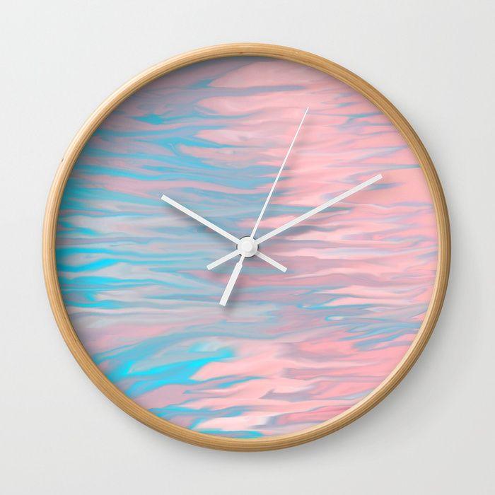 https://society6.com/silverpegasus, Buy Inner Peace wall clock by ...