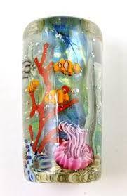 Resultado de imagen para lampwork aquarium beads