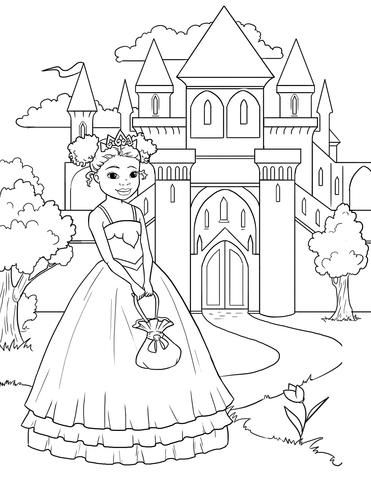 I M A Pretty Princess Free Coloring Pages Princess Coloring Pages Princess Coloring Coloring Pages