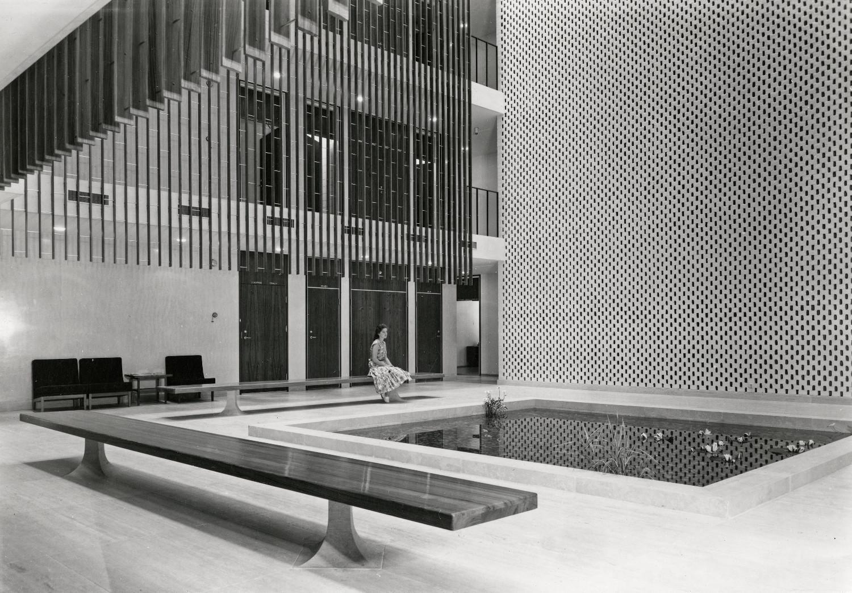 Eero Saarinen The American Embassy In Oslo Photo K