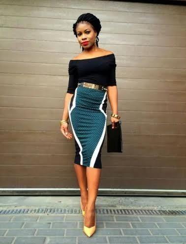 la taille haute comment la porter womenswear mode africaine mode et robe tissu africain