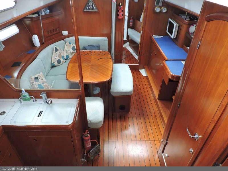 Beneteau Oceanis 393 Clipper Owners Version Muca Maca Sailboat