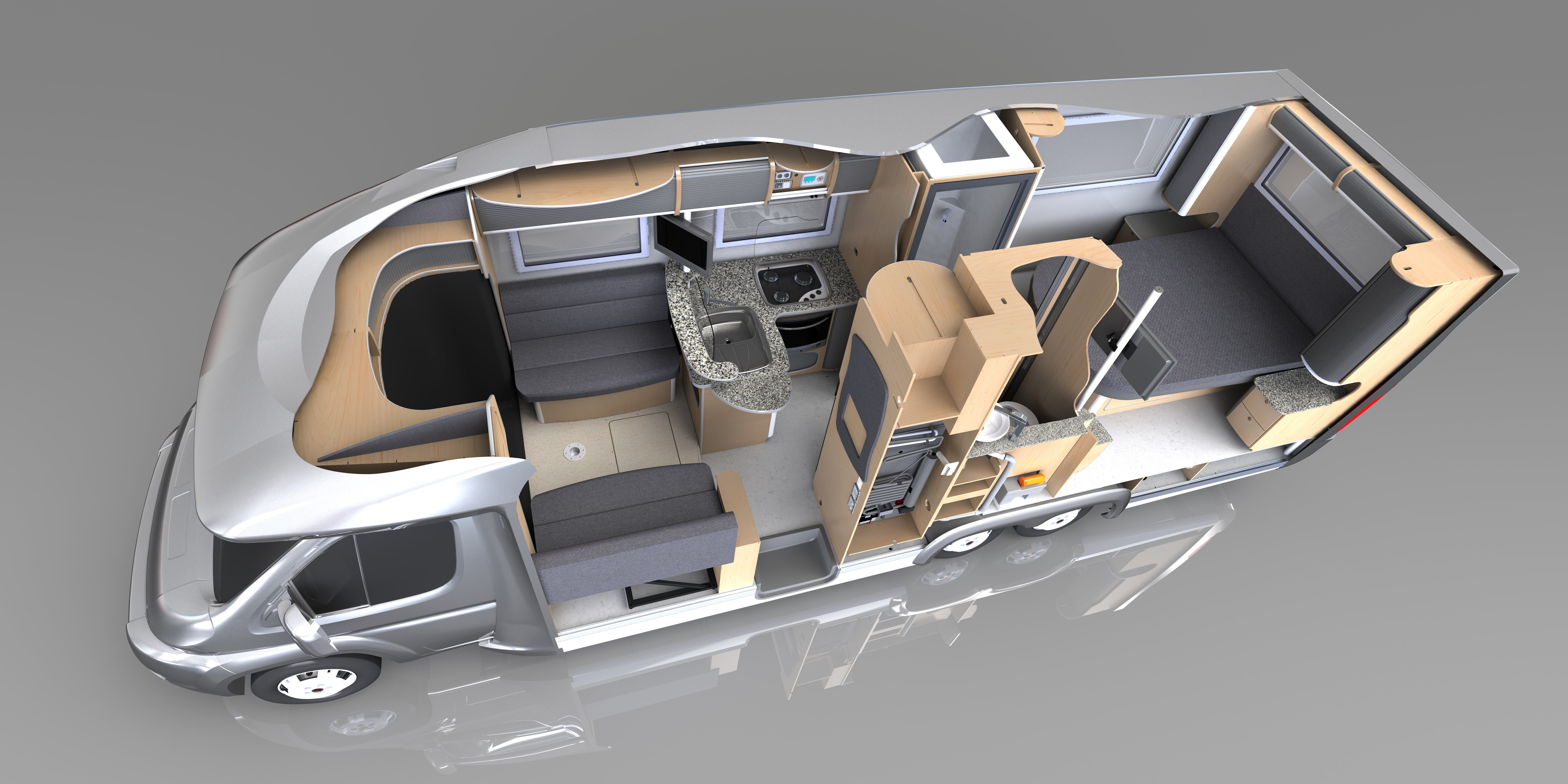 Mercedes Sprinter Motorhome Floor Plans Camp
