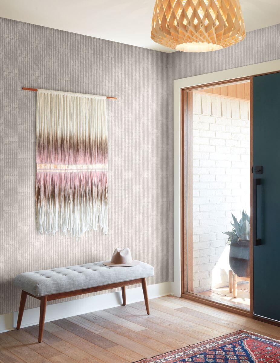 Magnolia Home Vantage Point Peel & Stick Wallpaper Grey