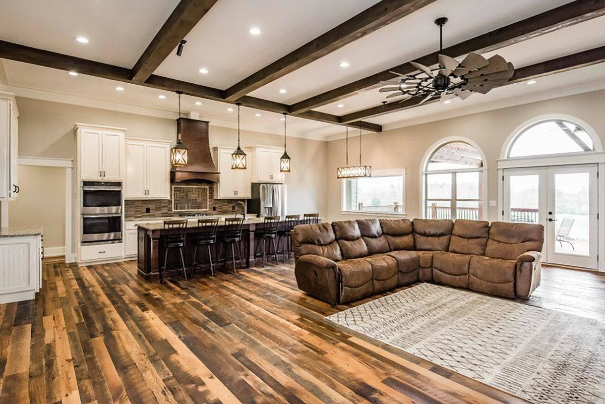 Plan 360012DK: Charming 4-Bed Country Craftsman Ho