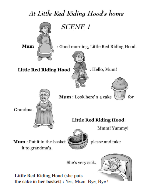 Little Red Riding Hood Anglais Cm1 Ce2 Cm1 Anglais