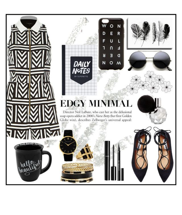 """""""Black and White"""" by jjallstar ❤ liked on Polyvore featuring Tory Burch, Cynthia Rowley, Larsson & Jennings, J.Crew, Bashian, Chanel, Givenchy, Steve Madden, GUESS and River Island"""