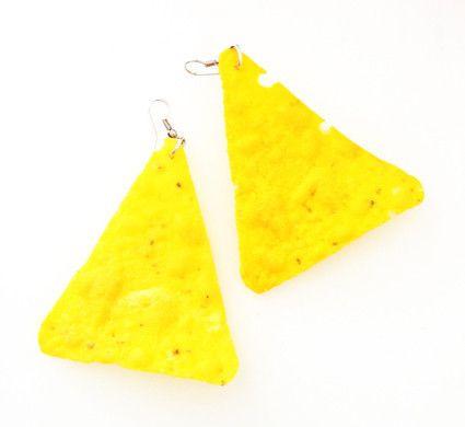 Corn Chip Earrings - NEW