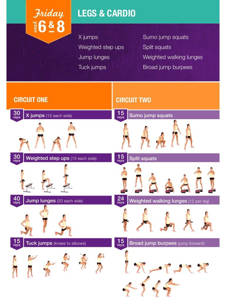 Bbg Workout Planner | EOUA Blog