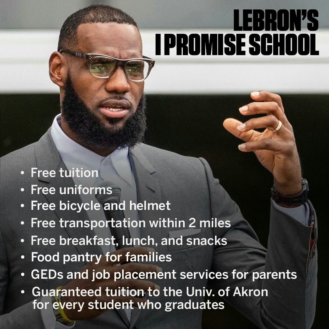 b1becada7e31 LeBron James  I Promise School for at-risk kids in Akron
