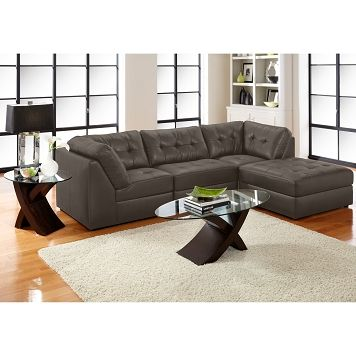 Aventura Iii Leather 4 Pc Sectional Value City Furniture Furniture Furniture Outlet Value City Furniture