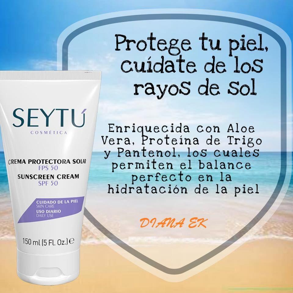 Crema Protectora Solar Ideal Para Protegerte De Los Rayos Del