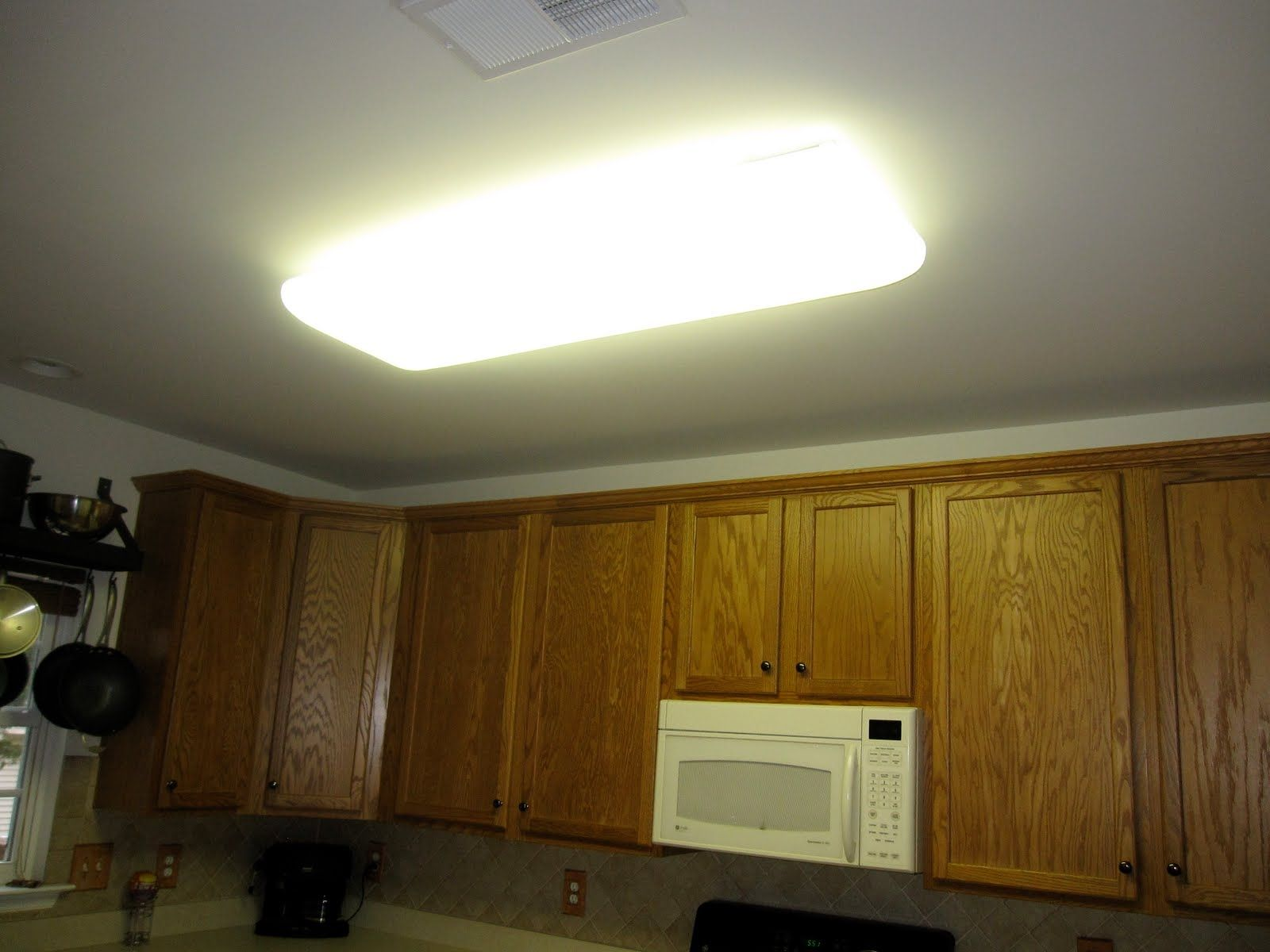 Gentil Kitchen Lighting Fluorescent Ceiling