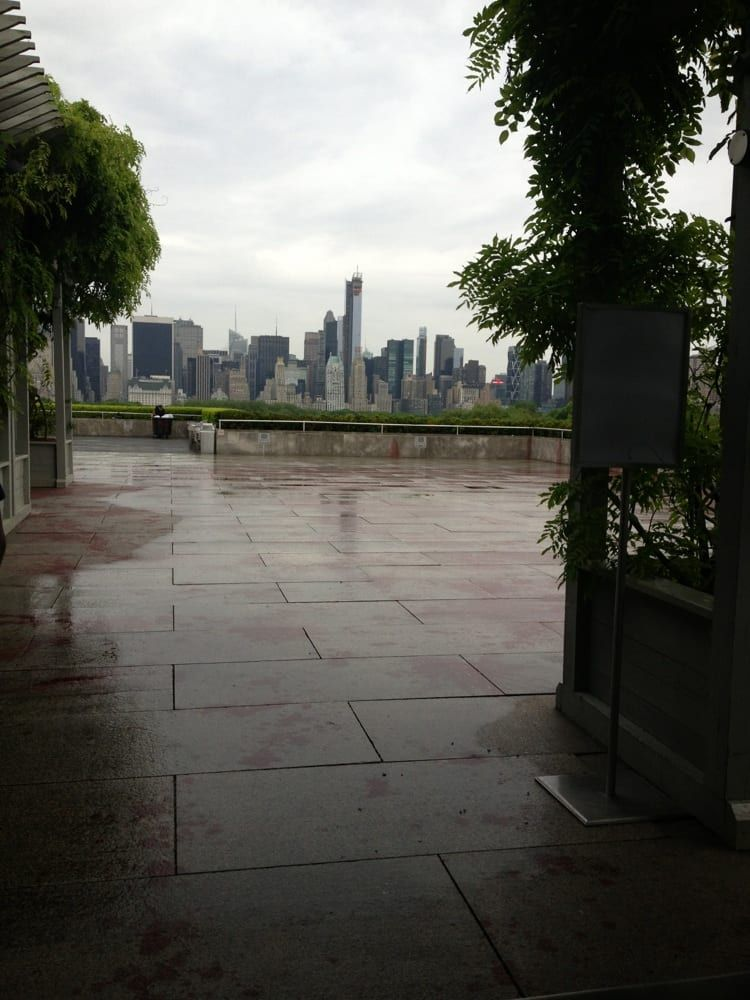 Photo Of Met Roof Garden Cafe Martini Bar New York Ny United States Behind The Bar And See How Beautiful It Is H Garden Cafe Roof Garden Photo