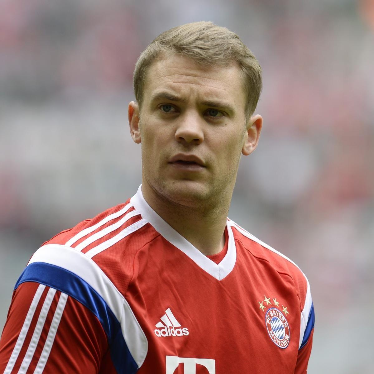 Manuel Neuer Could Miss Rest of Season with Broken Foot Bleacher