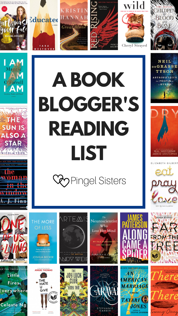 2018 Reading List Every Book I Read This Year Book Blogger Book Club Books Reading Lists