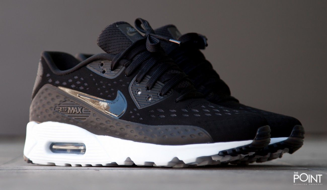 Zapatillas Nike Air Max 90 Essential Negro Blanco