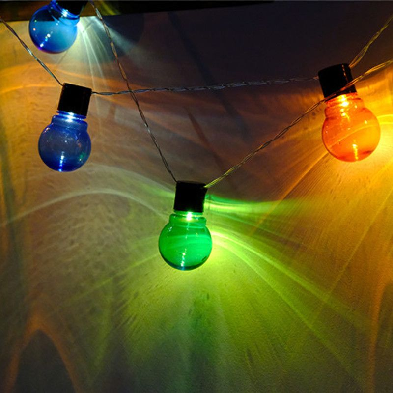 Decorative Ball Lights 265M 1020 Led Cotton Ball Lights String Fairy Light Party