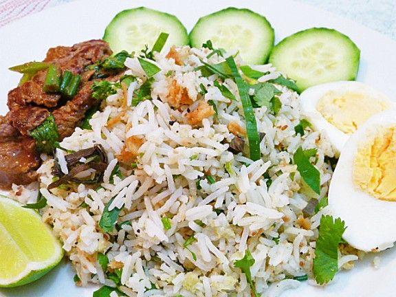 Nasi Ulam Malaysian Mixed Herb Rice Salad Resepi Nasi Ulam Recipe Malaysian Cuisine How To Cook Rice Herbed Rice