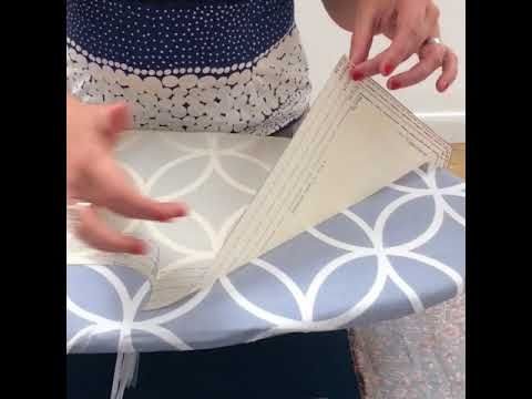 How to avoid pinning sewing patterns - YouTube | Sewing tips for ...