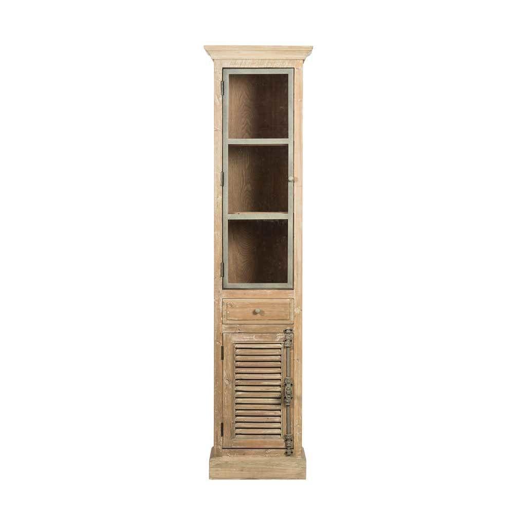 badezimmer hochschrank aus kiefer antik finish jetzt bestellen unter. Black Bedroom Furniture Sets. Home Design Ideas
